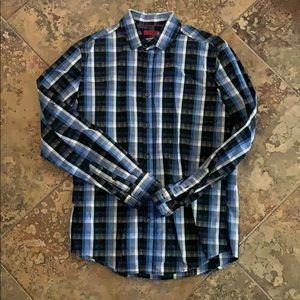 Checkered Men's Dress Shirt